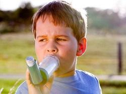 آسم یکی از عوامل چاقی در کودکان است