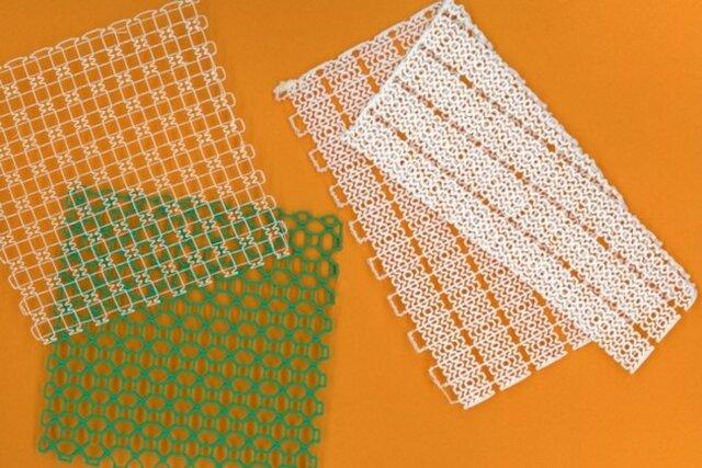 استفاده از تور چاپ ۳ بعدی به عنوان یک پانسمان منعطف