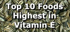 بهترین منابع غذایی ویتامین E