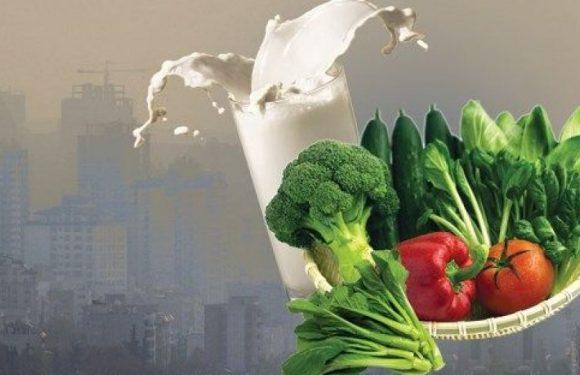 تغذیه سالم در هوای آلوده