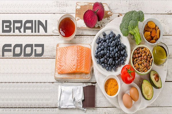 تقویت حافظه و تمرکز با تغذیه سالم مغز