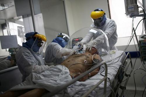 بیمارستانی در شهر بوگوتا کلمبیا