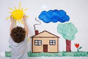 نقاشی کودکتان را تحلیل کنید تا به دنیای درونیش برسید