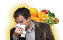 وقتی بیماریم چه بخوریم
