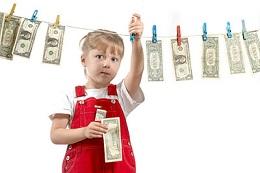 کدام بچه ها تمایل بیشتری به پولدار شدن دارند؟
