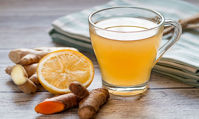 یک ترکیب شگفت انگیز: چای+زردچوبه+زنجبیل