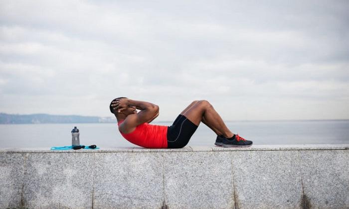 شکم 6 تکه بدون تمرینات اختصاصی بخش مرکزی بدن